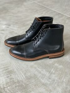 Oak Street Bootmakers Black Horween Chromexcel Lakeshore Boot Size 9 NIB