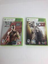 Xbox360 Games W12 W2k15 Lot