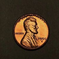 1954-S Lincoln Wheat Cent 1C - Gem Uncirculated