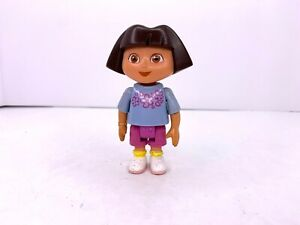 "Mattel Dora the Explorer Dora Doll 3.5"" Action Figure"