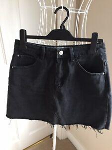 Primark, Denim & Co Charcoal Grey Denim Mini Skirt, Size 10