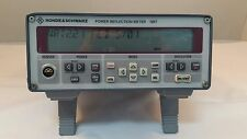 Rohde & Schwarz NRT Power Reflection Meter, 90 Day Warranty - Tested