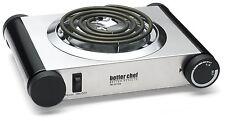 BETTER CHEF 1000W SINGLE ELECTRIC HOT PLATE BURNER COUNTERTOP STOVE DORM BUFFET