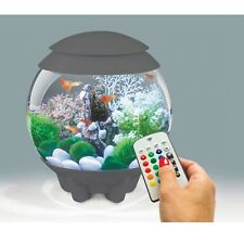 BiOrb Halo 15 Litre Grey Aquarium with LED Light and Remote