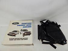 New OEM 1988-1989 Ford Escort LX Front Cover Nose Mask Bra Black E9FZ19A413A