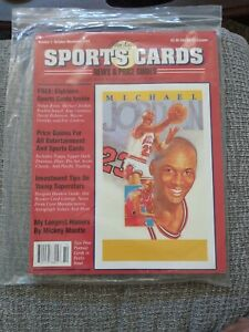Allan Kaye's Sports Card Price Guides October/November 1991 #1 Red Cover W Cards