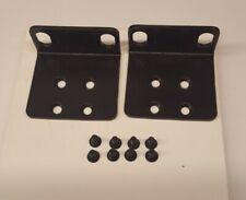 Netgear GS748AT Rack Mount Brackets/Ears with Screws