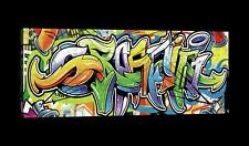 CANVAS Leinwand bilder XXL Buntes Graffiti Bild Wandbild 15F0052520