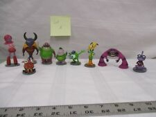 9 pc lot A monsters university characters Mike Wazowski Don Carlton squishy more