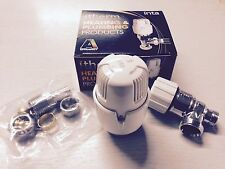 Inta 8mm / 10mm i-therm Angulado termostática válvula del radiador 108trva