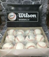12 pack Wilson A1217 - Soft Compression Baseballs -  NEW! FREE SHIPPING!