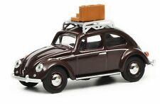 Schuco 1:64 Volkswagen Beetle Reisezeit dark red 452017000