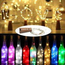 Cortiça em forma de 1M 2M 3M Fio De Cobre Led Luz Cordas Garrafa Vinho Para Decoração De Natal RD9