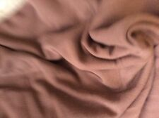 CHOCOLATE KNIT IN A TUBE- 72 INCHES WIDE-- 7/8 YARD