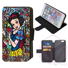 STAINED GLASS SNOW WHITE Flip Phone Case iPhone Galaxy Compatible