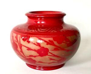 Arts & Crafts Bernard Moore Flambe Lustre Vase Annie Ollier c.1905/15