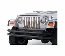 Smittybilt Textured Black Tubular Front Bumper 1976-2006 Jeep Wrangler JB44-FNT