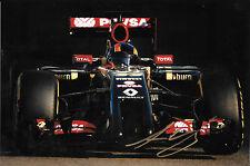 Alex Lynn firmato, F1 LOTUS-RENAULT E22 test Abu Dhabi, NOV 2014, GP3 CHAMPION