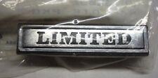 NOS AMC EAGLE 1979-87 LIMITED FENDER NAMEPLATE J8130052 (PKG OF 2) DN94