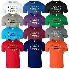 Spotty November Mens Kids Tshirt Children Day Funny Boys Girls T-Shirt