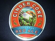 DESCHUTES BREWERY Cinder Cone Red Ale STICKER decal craft beer brewing
