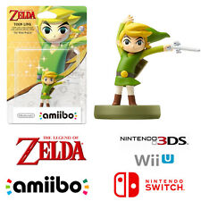 Toon Link Legend Of Zelda Character Amiibo For Nintendo 3DS Wii U Switch Games