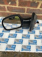 CHRYSLER GRAND VOYAGER 2001-07 passenger side electric wing mirror in Black LH