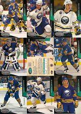 1993-94 Parkhurst by UD Buffalo Sabres Regular Team Set (18)