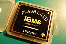 Hitachi CompactFlash, CF-Card, CF.-Karte, 16 MB., 1998, + neue Box, Nr. 649