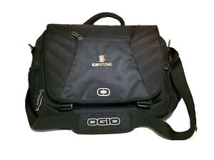 OGIO ELEMENT MESSENGER TRAVEL BAG FOR LAPTOP # 417016 NEW Padded Insert Black