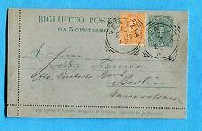 c.5 (B3) con UMB.I c.20 (39) ann.t.r.VENEZIA, 12.09.95 per la GERMANIA  (238048)