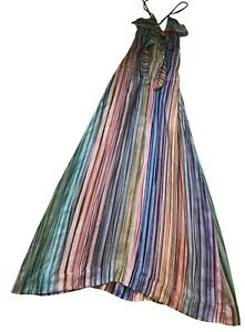 Paul Smith Ladies Multi Colour Woven Stripe Dress 42/52 UK 10
