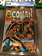 Conan 23 CGC 7.0 1st Appearance Red Sonja Bronze Barbarian F/VF Comic  FREE SHIP