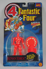 Fantastic Four: HUMAN TORCH (GLOW IN THE DARK) Toy Biz Marvel 1994, NEW & SEALED