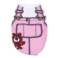 Summer Pet Clothes Puppy Small Dog Cat Pet Vest T-Shirt Coat Costume Apparel S