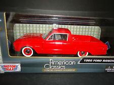 Motormax Ford Ranchero 1960 Red 1/24