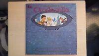 Disneyland Record Magic Mirror Walt Disney's CINDERELLA Book & LP 1960