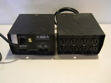 Lot of 2 Elation EL-P410 Analog 4 Channel Power Pack