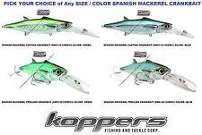 Live Target Spanish Mackerel Crankbait Saltwater Fishing Lure Any SMK Color Size