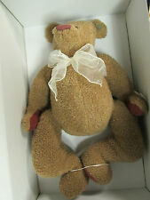 """* NEW ANNETTE FUNICELLO COLLECTIBLE BEAR CO. """" NICKELETTA"""" C46289 ...... DL-20"""