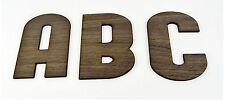 Nogal Enchapado Xxl de madera letras del alfabeto / Decoración Infantil / Alfabeto De Pared