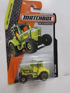 Matchbox 2014 sobre Una Misión Tractor