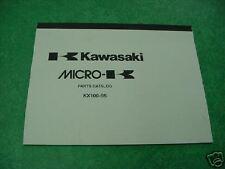 Kawasaki KX100 B5 1995 Genuine Parts Book / Catalog NEW KX 100 95