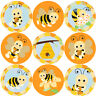 144 Bees Buzzing 30 mm Reward Stickers for School Teachers, Parents, Nursery