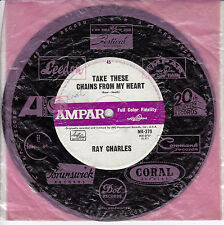 RAY CHARLES Take These Chains From My heart / No Letter Today 1960's OZ 45
