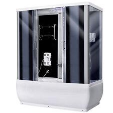 Duschkabine Badewanne Regendusche Dusche Duschwand DUSCHTEMPEL mit Sitz und LED