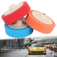 3X 150MM Polishing Wheel Polish Car Buffing Valeting Soft Mop Pads M14 Thread
