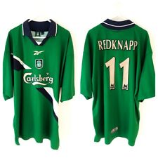 a881c9951 Liverpool Redknapp Away Shirt 1999. Large. Reebok Green Adults Football Top  Only