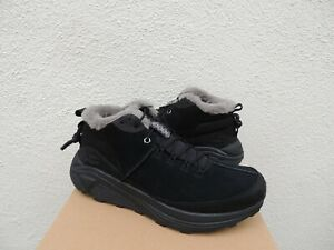 UGG BLACK SUEDE/ WOOL MIWO TRAINER HIGH SNEAKER HIKER BOOTS, US 9/ EUR 42 ~NEW