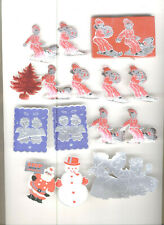 47 Vintage Christmas Package Seals For Packages Or Envelopes